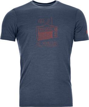 ORTOVOX 150 Cool Radio T-Shirt Herren blau