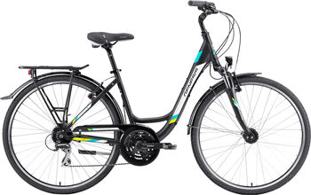 """GENESIS Touring 3.1 Trekkingbike 28"""" Damen schwarz"""