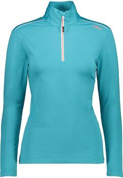 CMP Trentino Langarmshirt mit Halfzip Damen blau
