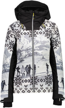 CMP Fix Hood Skijacke Damen weiß