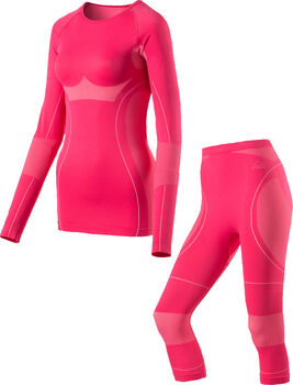 McKINLEY Funktionswäsche set Seyah,seamless,3/4Hose, Damen pink