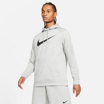 Nike Dri-FIT Hoodie Herren grau