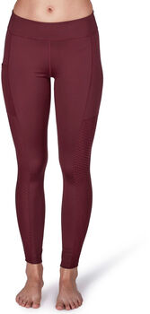 Skiny Yoga&Relax Trend Tights Damen rot