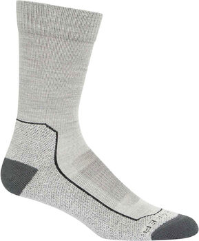 Icebreaker Hike+Light Crew Socken grau