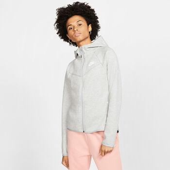 Nike Sportswear Windrunner Tech Fleecejacke mit Kapuze Damen schwarz