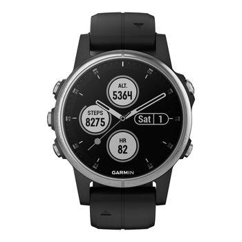 Garmin Fenix 5S Plus Saphir Multipsort GPS Smartwatch weiß