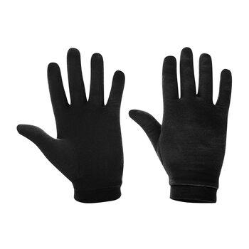 LÖFFLER Handschuhe Merino schwarz
