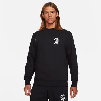 Nike M Nsw Ft Crw Wtour Sweater Herren schwarz