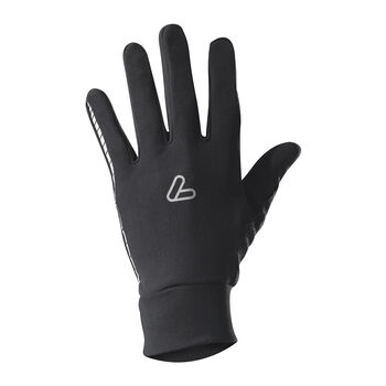 LÖFFLER Thermo Handschuhe schwarz