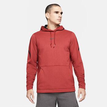 Nike Pro Fleece Hoodie Herren rot