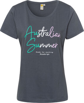 Roadsign Australian Summer T-Shirt Damen grau