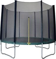Outdoortrampolin 4,2m im Set mit Sicherheitsnetz