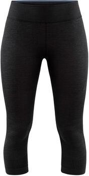 Craft Fuseknit Comfort 3/4 Funktionsunterhose Damen schwarz