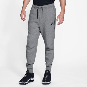 Nike  M Nsw Tch FlcHr. Jogginghose Herren grau