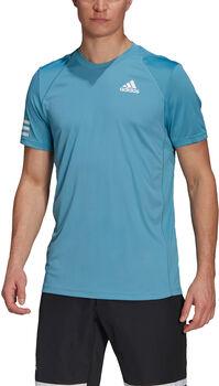 adidas Club Tennis 3-Streifen T-Shirt Herren blau