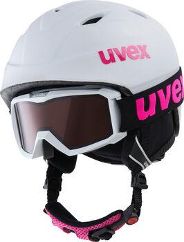 Uvex Airwing 2 Pro Skihelm & Brille weiß