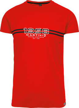 MARTINI Why Not T-Shirt Herren rot