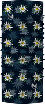 Buff Edelweiss Multifunktionstuch blau