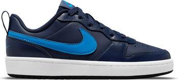 Nike Court Borough Low 2 Freizeitschuhe Jungen blau
