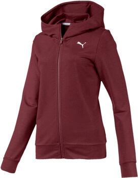 Puma Modern Sport Graphic Kapuzenjacke Damen rot