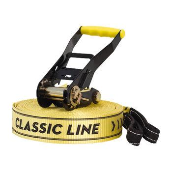 GIBBON Classic Line X13 Slackline gelb