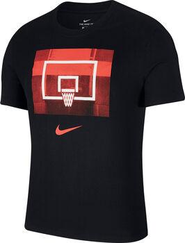 Nike Dry Backboard Trainingsshirt Herren schwarz