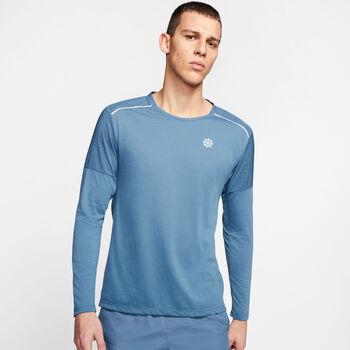 Nike Rise 365 Top Langarmshirt Herren blau