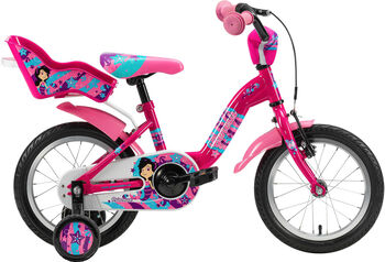 """GENESIS Princessa 14 Fahrrad 14"""" pink"""