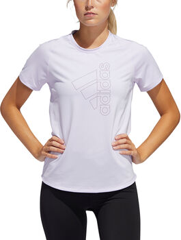 adidas Badge of Sport T-Shirt Damen lila