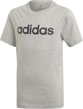 ADIDAS Linear T-Shirt Jungen grau
