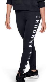 Under Armour Sportstyle Branded Tights Mädchen schwarz