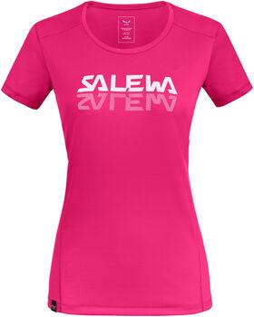 Salewa Sporty Graphic T-Shirt Damen pink