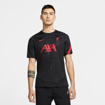 Nike Liverpool Fußballtrikot Herren schwarz