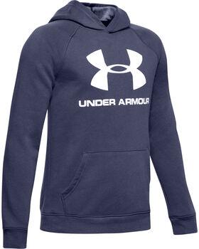 Under Armour Rival Logo Hoodie Jungen blau