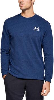 Under Armour Sportstyle Terry Logo Crew Sweater Herren blau