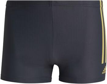 adidas Semi 3-Streifen Boxer Badehose Herren grau