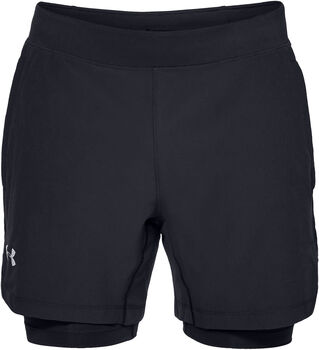 Under Armour Speedpocket Laufhose Herren schwarz