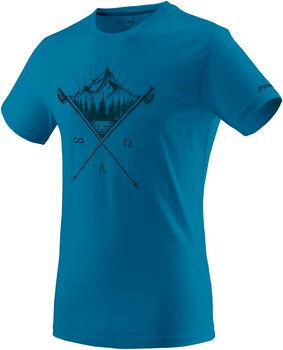 DYNAFIT Transalper Graphic T-Shirt Herren blau