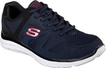 Skechers Satisfaction - Flash Point Fitnessschuhe Herren blau