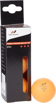 PRO TOUCH Pro Ball 3 Stern Tischtennisbälle orange