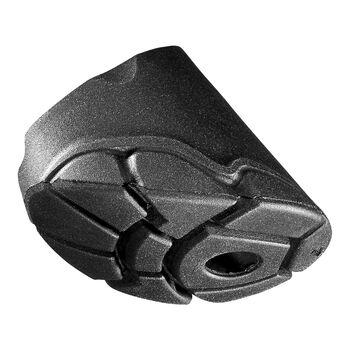 Leki Smart Tip Pad 2.0 Gummipuffer-Aufsätze schwarz