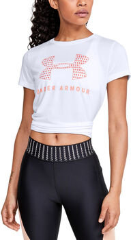 Under Armour Tech SSC T-Shirt Damen weiß