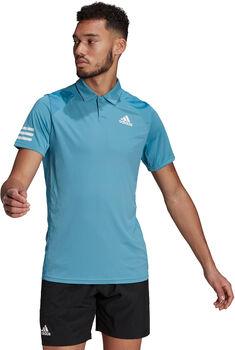 adidas Club 3-Streifen T-Shirt Herren blau