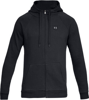 Under Armour RIVAL Fleecejacke Herren schwarz