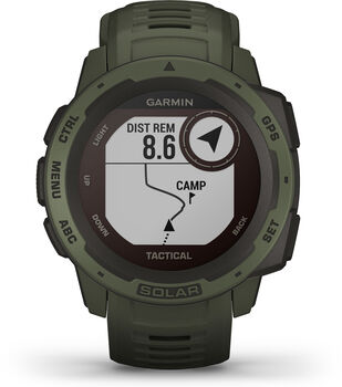 Garmin Instinct Tactical Solar Multisporuhr braun