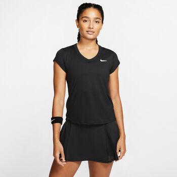 Nike Dry Top T-Shirt Damen schwarz
