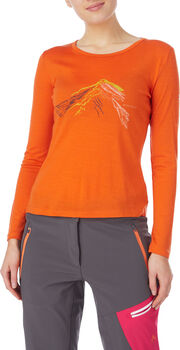 McKINLEY Fitz T-Shirt Damen orange