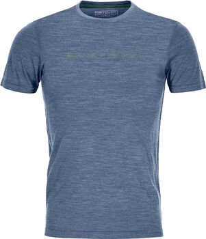 ORTOVOX Cool Tec Icons T-Shirt Herren blau
