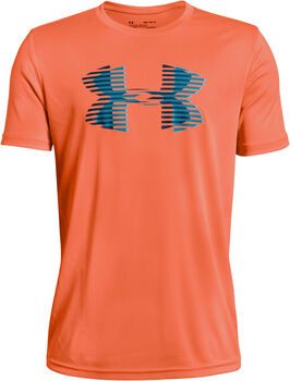 Under Armour TECH BIG LOGO T-Shirt Jungen orange