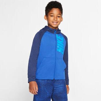 Nike Dry Fleece Kapuzenjacke Jungen blau